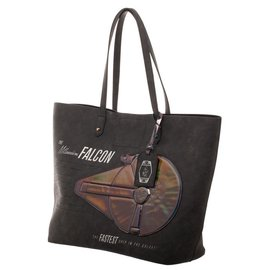 Bioworld Millennium Falcon Tote Bag