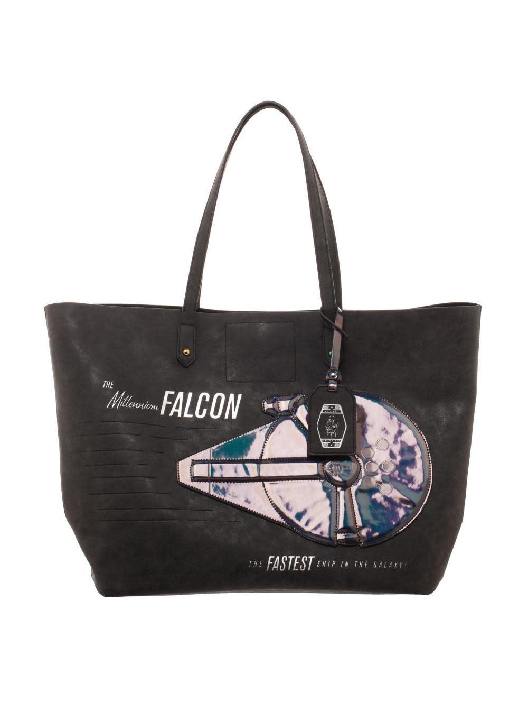 Bioworld Millennium Falcon Tote Bag