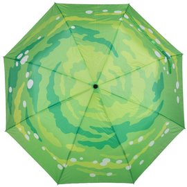 Bioworld Rick and Morty Portal Gun Compact Umbrella