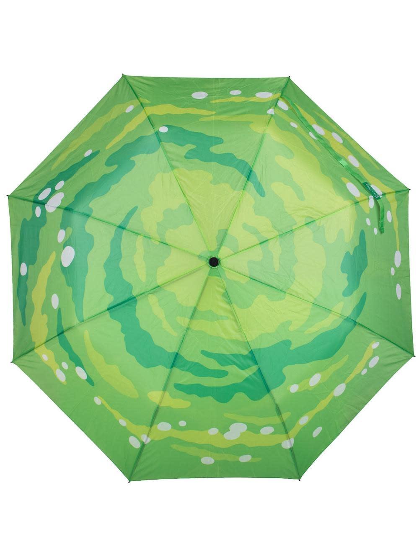 Bioworld Rick and Morty Portal Gun Compact Umbrella