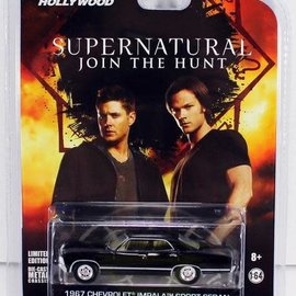 Greenlight Supernatural: b1967 Chevrolet Impala Sedan from the TV Series 1:64
