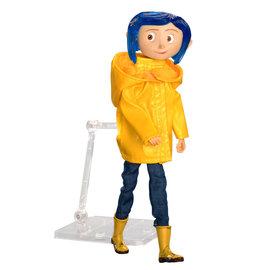 NECA Coraline: Coraline in Raincoat - 7 inch Action Figure
