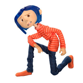 NECA Coraline: Coraline in Striped Shirt and Jeans - 7 inch Action Figure