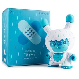 Kidrobot Kono the Yeti 8 inch Dunny by Squink