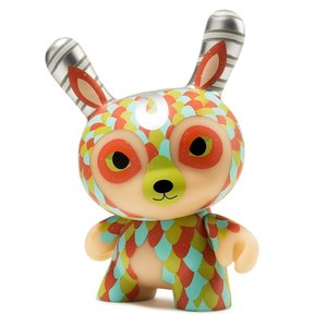 Kidrobot Curly Horned Dunnylope 5 inch Dunny by Horrible Adorables