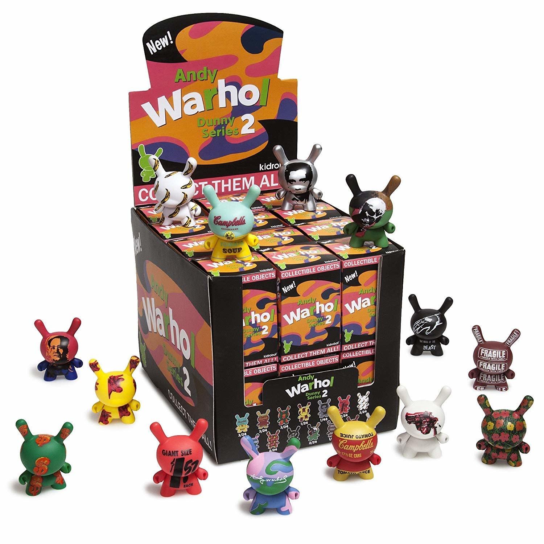 Kidrobot Warhol: Dunny Series 2 (sold per one)