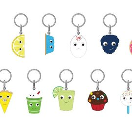 Kidrobot Yummy World: Fresh Friends Keychain ( sold per one)