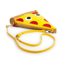 Kidrobot Yummy World: Leather Pizza Clutch Bag