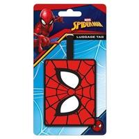 Luggage tag spiderman