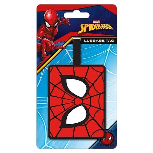 Hole In The Wall Luggage tag spiderman