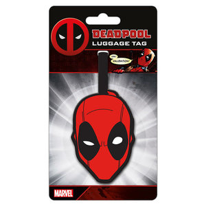 Hole In The Wall Luggage tag deadpool