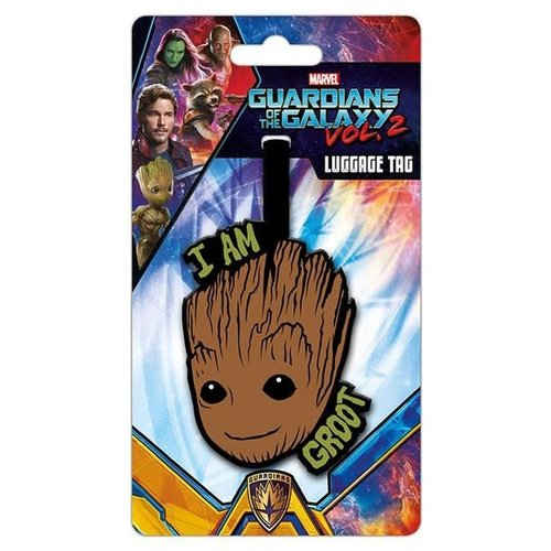 Hole In The Wall Luggage tag groot