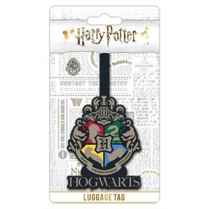 Hole In The Wall Luggage tag hogwarts crest