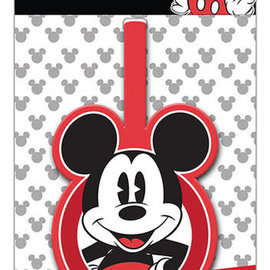 Hole In The Wall Luggage tag mickey
