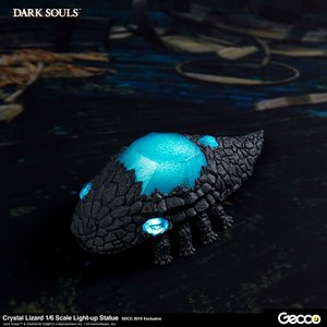 gecco corps Dark Souls: Crystal Lizard 1:6 Scale Light-Up PVC Statue SDCC 2019 Ed.