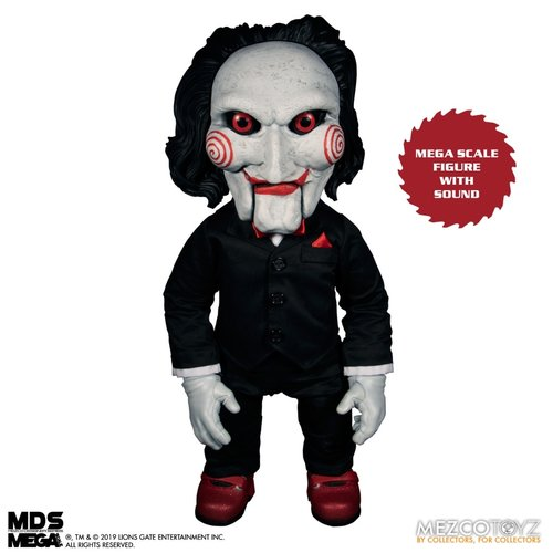 Mezcotoys SAW: Mega Scale Talking Billy 15 inch Action Figure