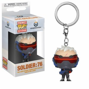 FUNKO Pocket Pop Keychain: Overwatch - Soldier 76