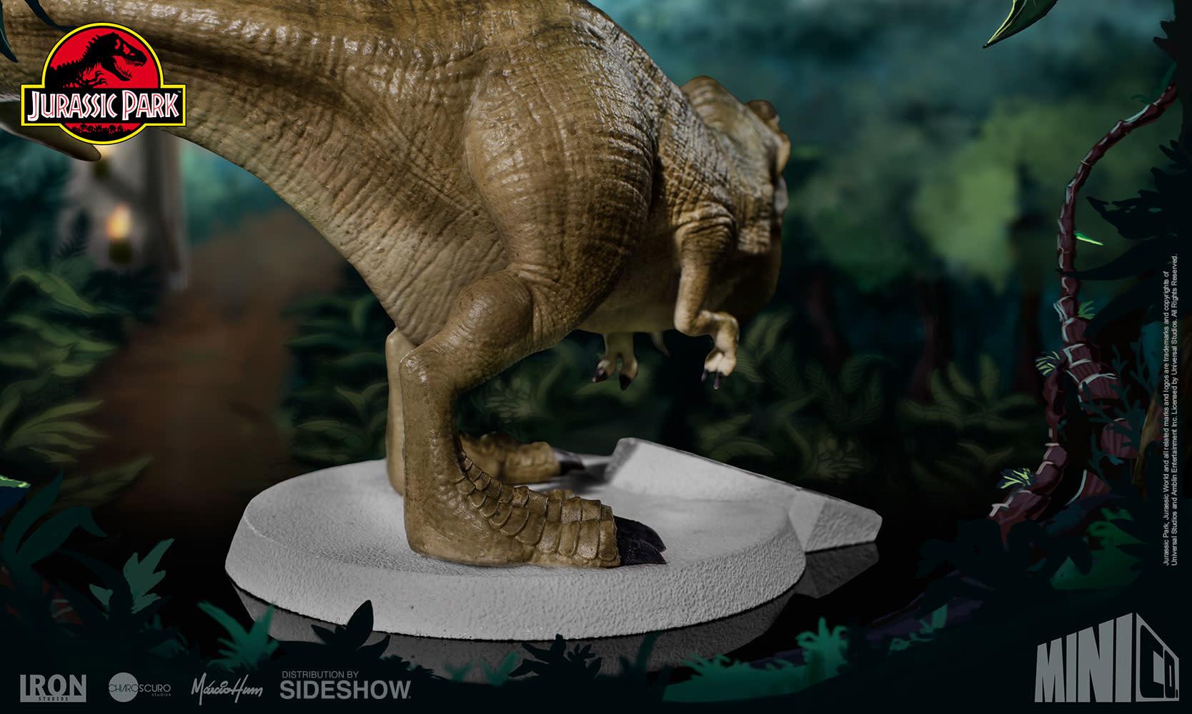 Sideshow Jurassic Park: Tyrannosaurus Rex Mini Co. Figure