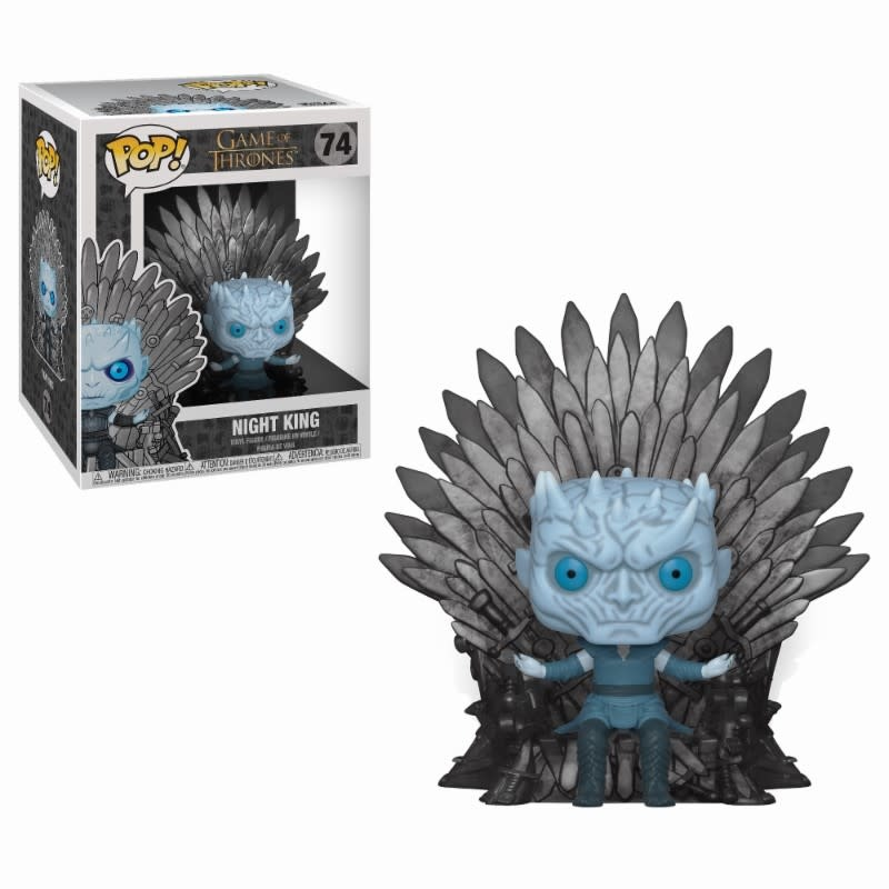 FUNKO Pop! Deluxe: Game of Thrones - Night King Sitting on Throne