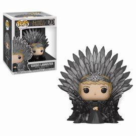 FUNKO Pop! Deluxe: Game of Thrones - Cersei Lannister Sitting on Iron Throne