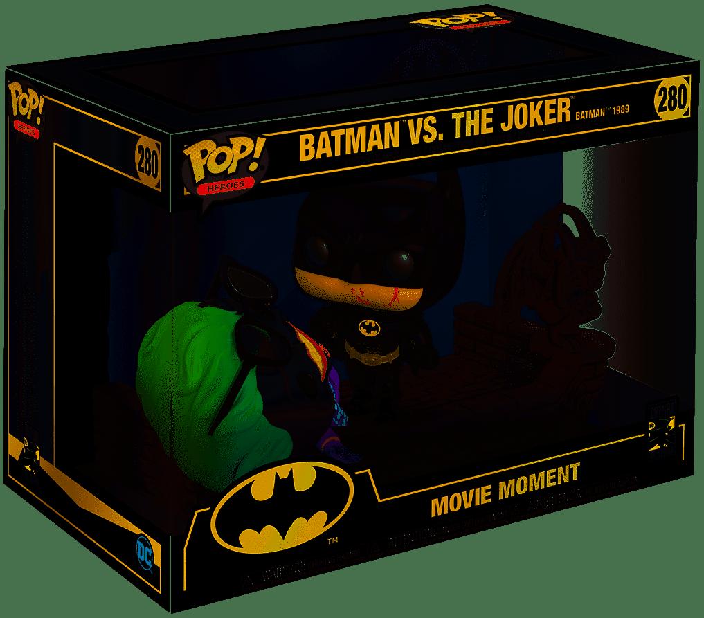 FUNKO Pop! DC: Batman 80th - 1989 Movie Moment - Batman and the Joker