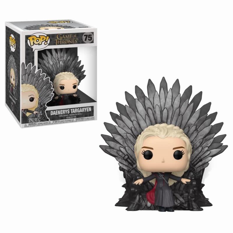 FUNKO Pop! Deluxe: Game of Thrones - Daenerys Sitting on Throne