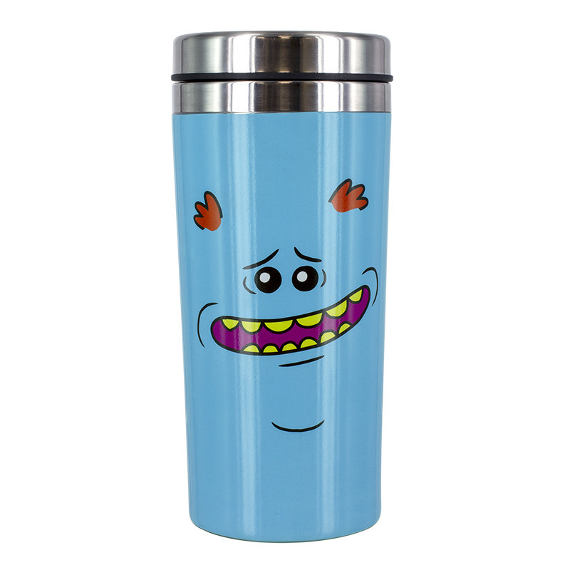 Paladone Rick and Morty: Mr. Meeseeks Travel Mug