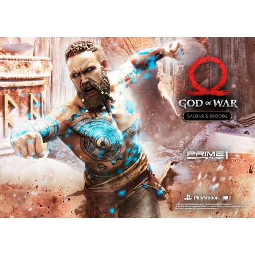 Prime 1 Studio PRE ORDER: God of War 2018: Baldur and Broods 24.5 inch Statue
