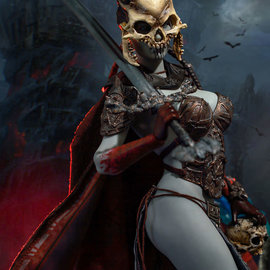 Sideshow PRE ORDER: Court of the Dead: Kier - First Sword of Death 1:6 Scale Figure