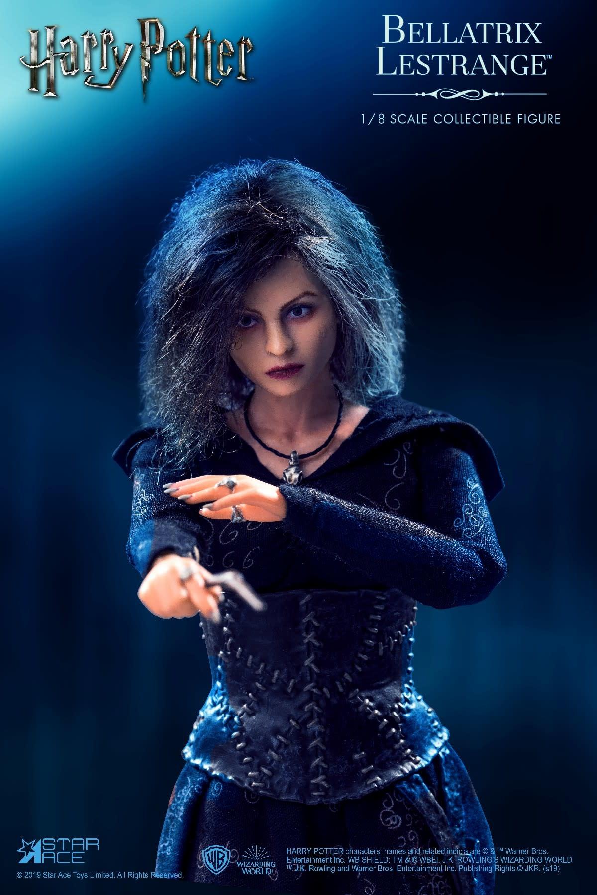 Star Ace PRE ORDER: Harry Potter: Deluxe Bellatrix Lestrange 1:8 Scale Figure