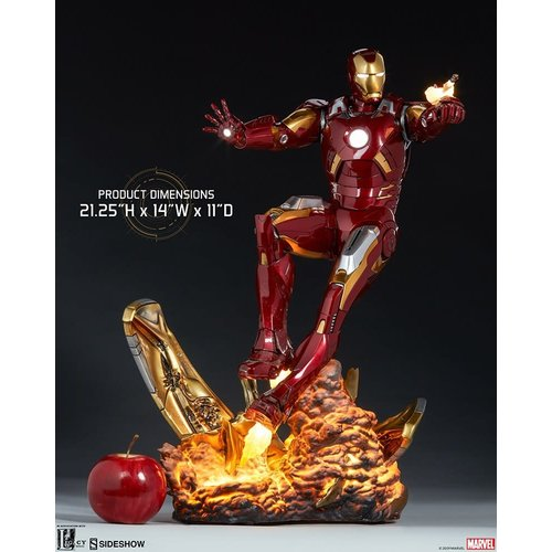 Sideshow PRE ORDER: Marvel: The Avengers - Iron Man Mark VII Maquette