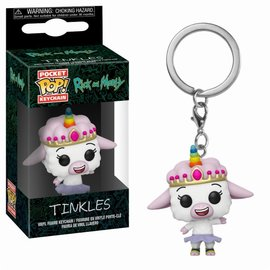 FUNKO Pocket Pop Keychain: Rick and Morty - Tinkles