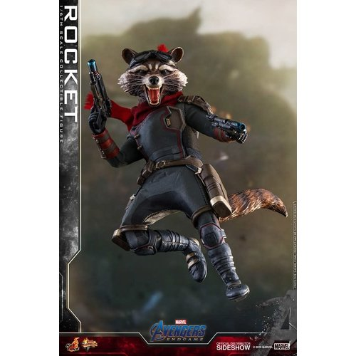 Hot toys PRE ORDER: Marvel: Avengers Endgame - Rocket 1:6 Scale Figure