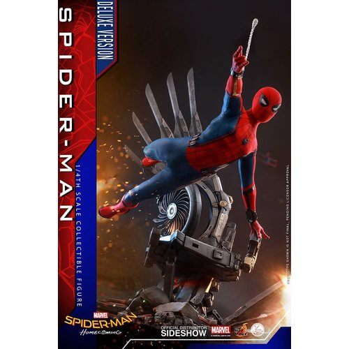 Hot toys PRE ORDER:  Marvel: Spider-Man Homecoming - Deluxe Spider-Man 1:4 Scale Figure