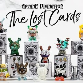 Kidrobot Arcane Divination Dunny Series 2 blindbox - The Lost Cards (price per piece)