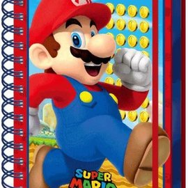 Hole In The Wall Super Mario Mario - A5 3D Lenticular Notitieboek