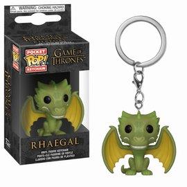 FUNKO Pocket Pop Keychains: Game of Thrones - Rhaegal