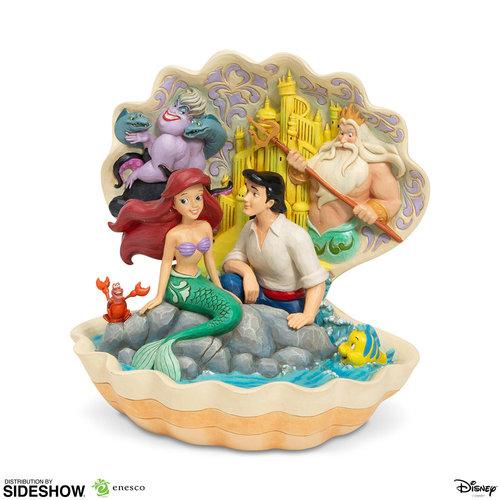 Sideshow Toys PRE ORDER: Disney: The Little Mermaid - Shell Scene Figurine