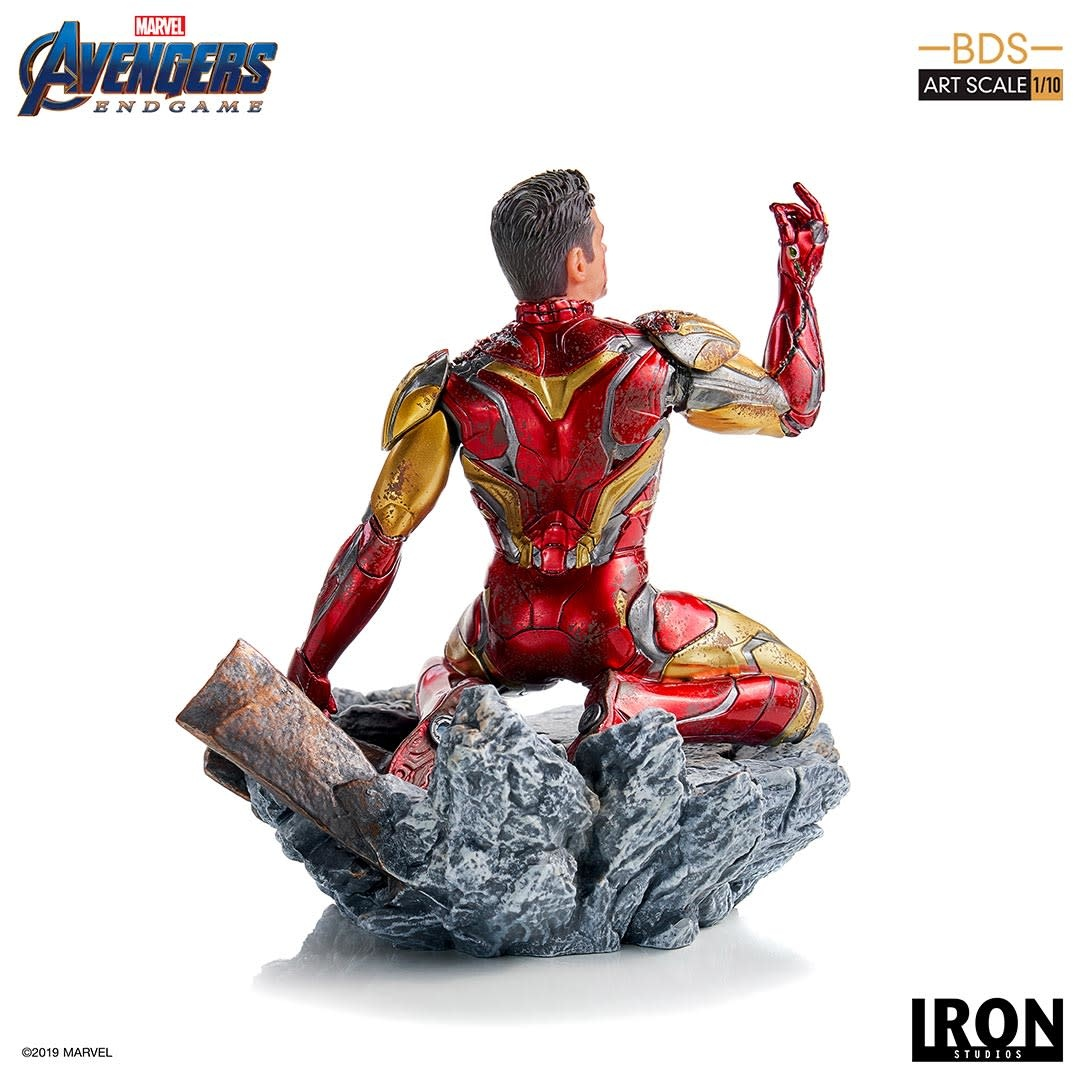 Iron Studios PRE ORDER: Marvel: Avengers Endgame - I Am Iron Man 1:10 Scale Statue