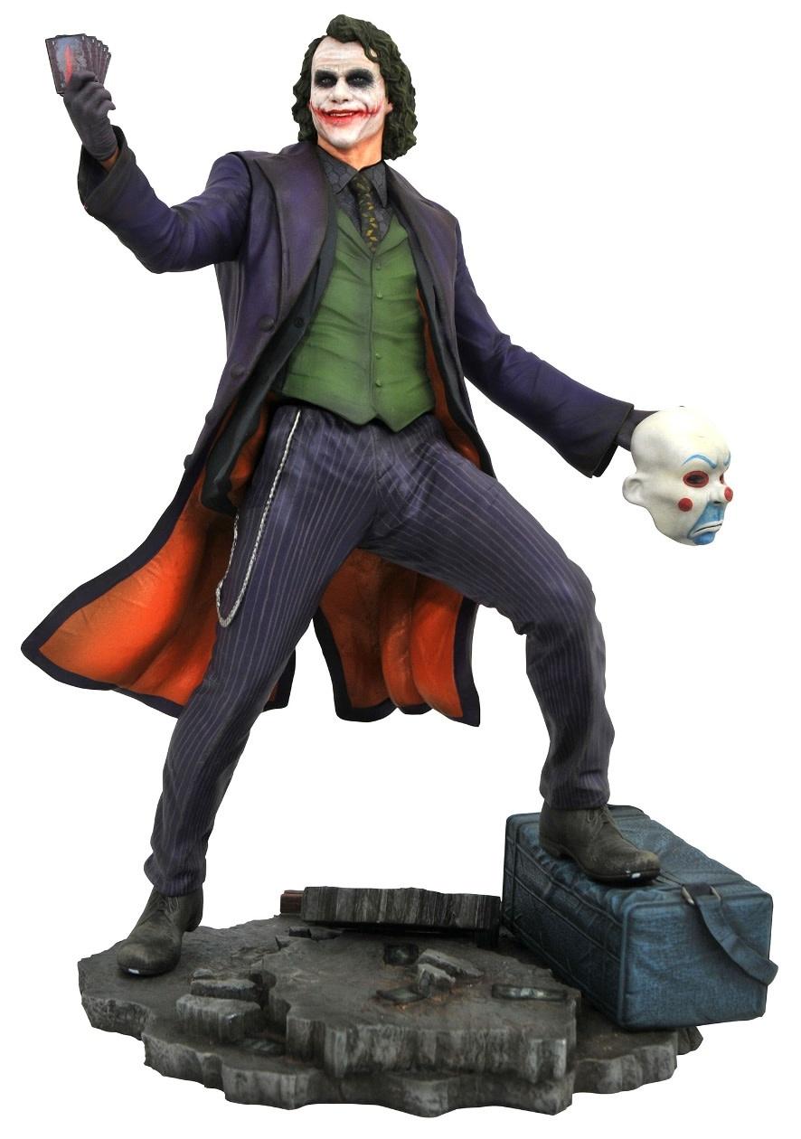 Diamond Direct DC Comics Gallery: Batman - Dark Knight Movie Joker PVC Figure