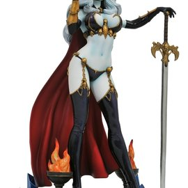 Diamond Direct Femme Fatales: Lady Death PVC Figure Diorama