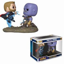 FUNKO Pop! Marvel: Movie Moments - Avengers Infinity War - Thor vs Thanos