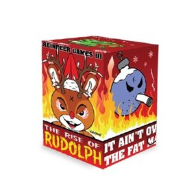Kidrobot Kozik 3 inch Rise of Rudolph Holiday Dunny