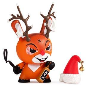Kidrobot Kozik 3 inch Rise of Rudolph Holiday Dunny