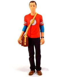 SD Toys The Big Bang Theory: Sheldon Cooper 18 Cm Red Flash Figure
