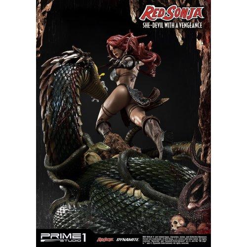 Prime 1 Studio PRE ORDER: Red Sonja: She-Devil with a Vengeance Statue