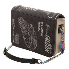 Bioworld Star Wars : Millemium Falcon Operations Manual Bag