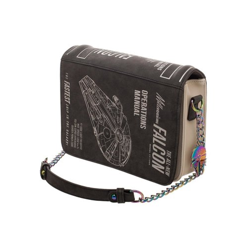 Bioworld Star Wars : Millemium Falcon Operations Manual Bag