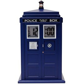 Zeon Dr. Who: Tardis Projection Alarm Clock