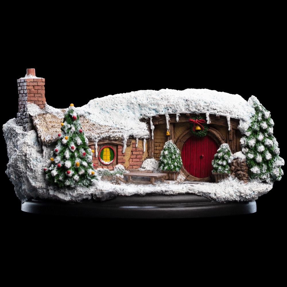 WETA Workshops The Hobbit an unexpected journey statue35 Bagshot Row Christmas  edition 7 cm